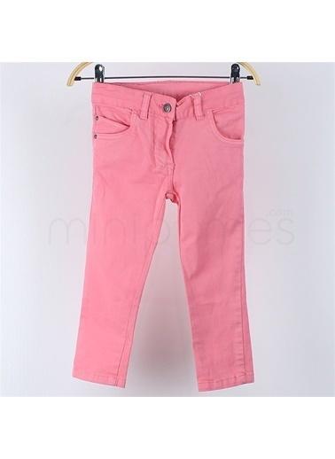 Losan Kız Çocuk Yazlık Kanvas Pantolon Mercan
